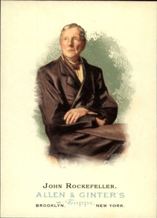 2006 Topps Allen and Ginter #345 John Rockefeller SP