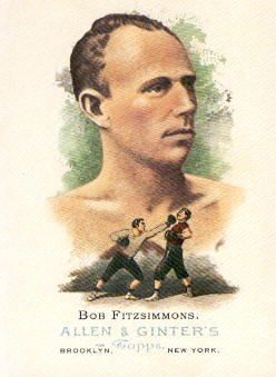 2006 Topps Allen and Ginter #346 Bob Fitzsimmons
