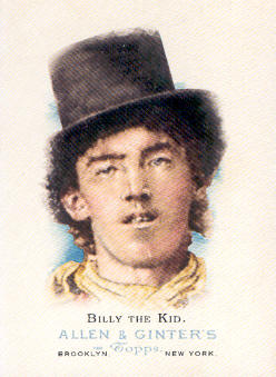 2006 Topps Allen and Ginter #347 Billy The Kid
