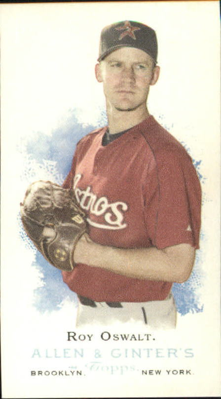 2006 Topps Allen and Ginter Mini #37 Roy Oswalt