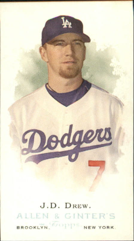 2006 Topps Allen and Ginter Mini #39 J.D. Drew