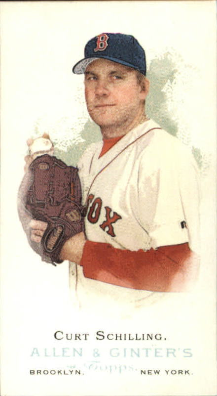 2006 Topps Allen and Ginter Mini #153 Curt Schilling SP