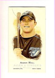 2006 Topps Allen and Ginter Mini #320 Aaron Hill