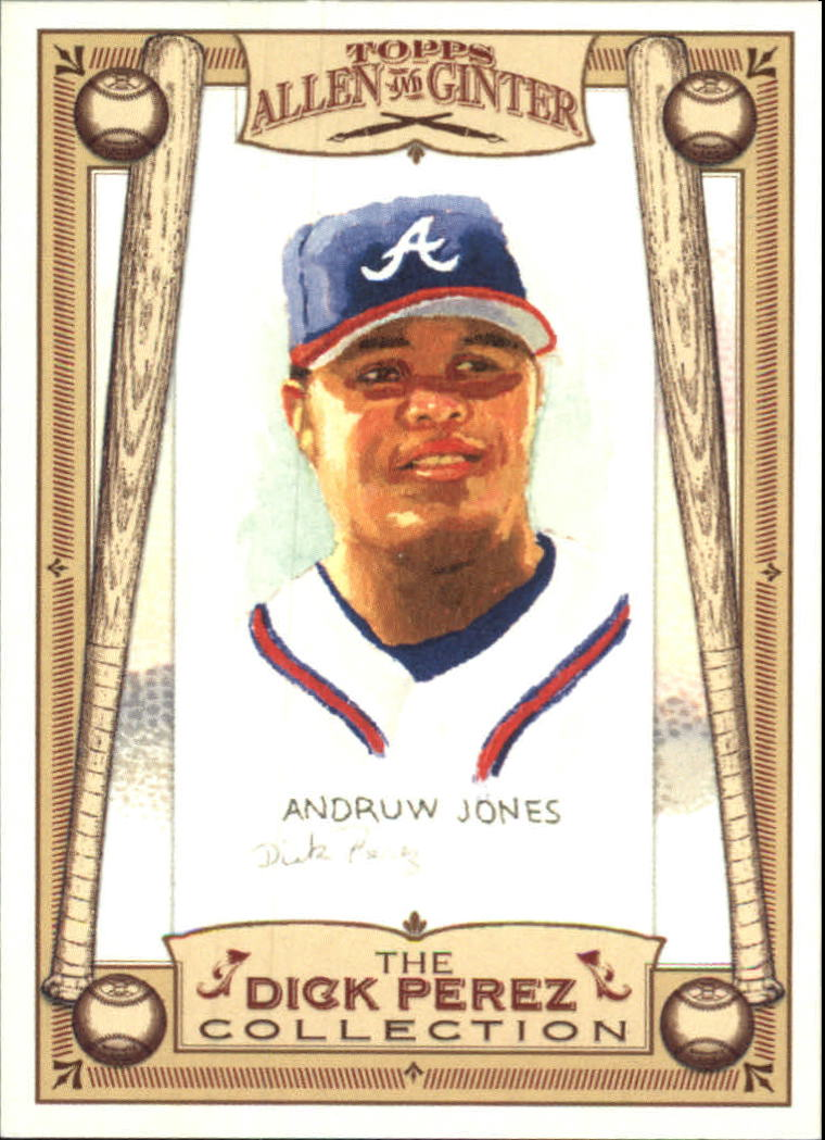 2006 Topps Allen and Ginter Dick Perez #2 Andruw Jones