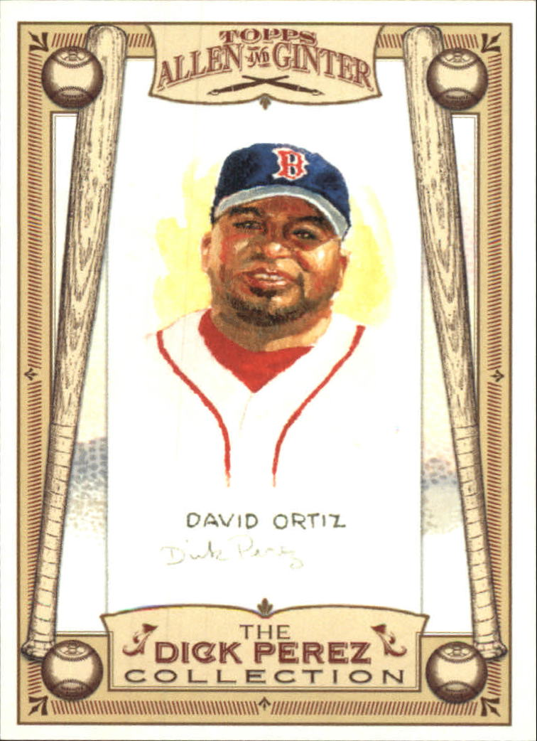 2006 Topps Allen and Ginter Dick Perez #4 David Ortiz