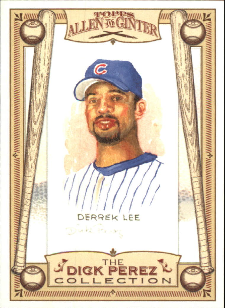 2006 Topps Allen and Ginter Dick Perez #5 Derrek Lee