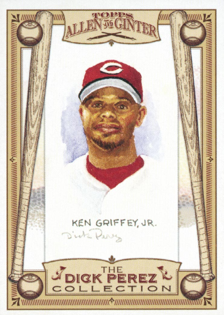 2006 Topps Allen and Ginter Dick Perez #7 Ken Griffey Jr.