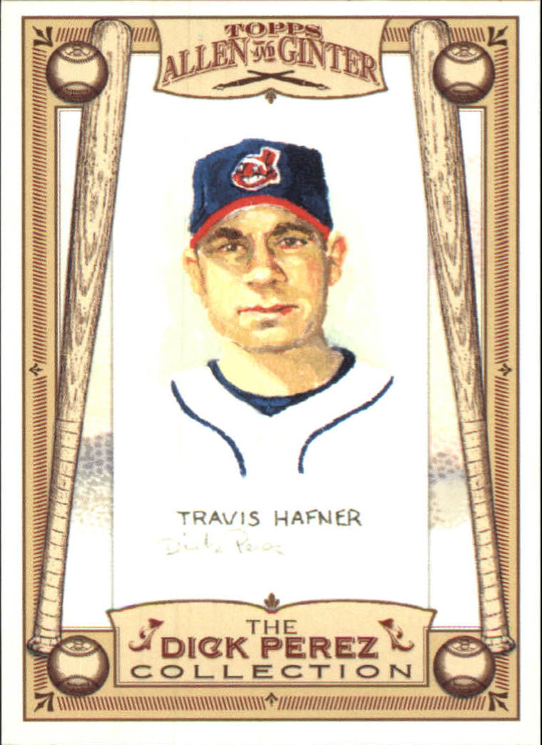 2006 Topps Allen and Ginter Dick Perez #8 Travis Hafner