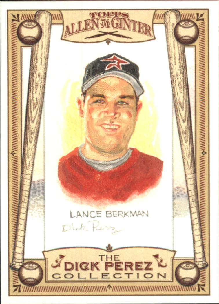2006 Topps Allen and Ginter Dick Perez #12 Lance Berkman