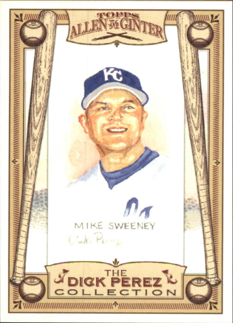 2006 Topps Allen and Ginter Dick Perez #13 Mike Sweeney