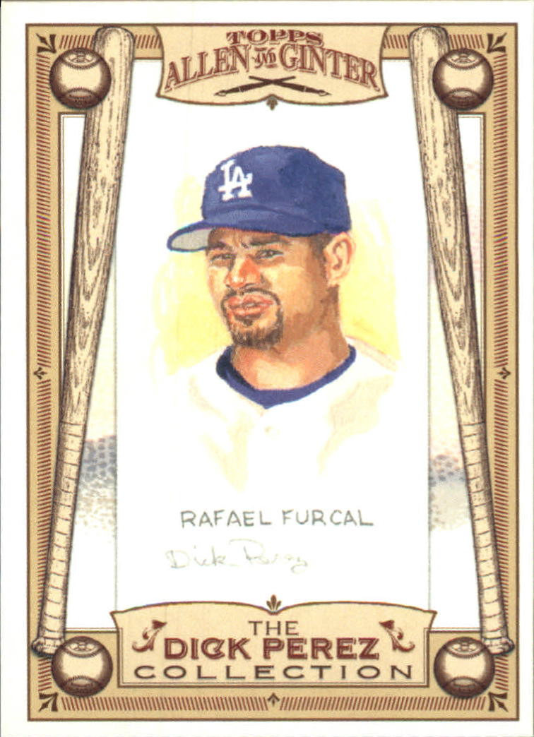 2006 Topps Allen and Ginter Dick Perez #15 Rafael Furcal