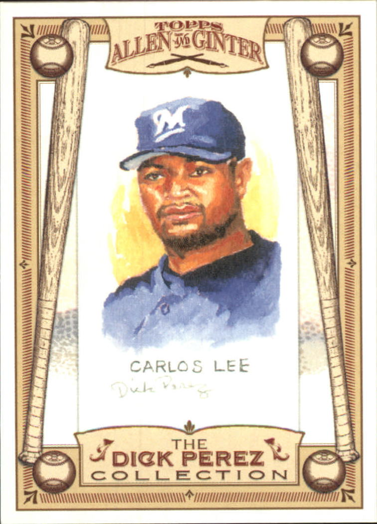 2006 Topps Allen and Ginter Dick Perez #16 Carlos Lee