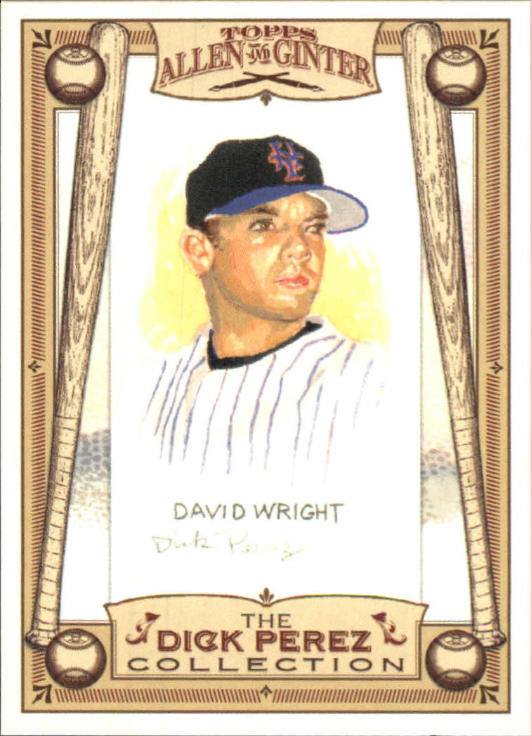 2006 Topps Allen and Ginter Dick Perez #18 David Wright