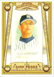 2006 Topps Allen and Ginter Dick Perez #19 Alex Rodriguez