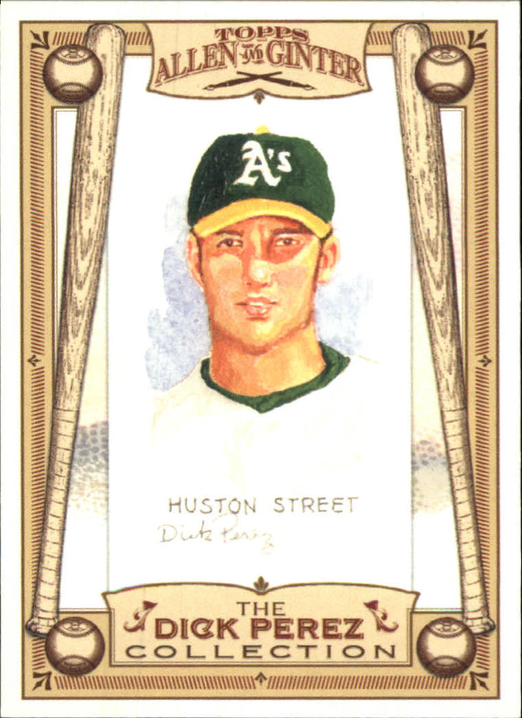 2006 Topps Allen and Ginter Dick Perez #20 Huston Street