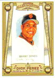 2006 Topps Allen and Ginter Dick Perez #25 Barry Bonds