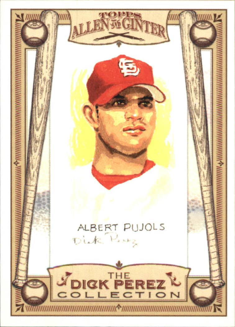 2006 Topps Allen and Ginter Dick Perez #26 Albert Pujols