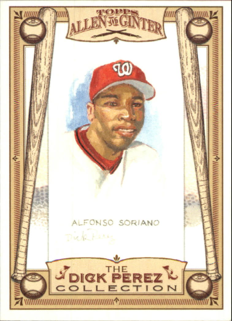 2006 Topps Allen and Ginter Dick Perez #30 Alfonso Soriano