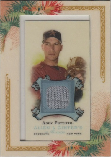 2006 Topps Allen and Ginter Relics #APE Andy Pettitte Jsy F