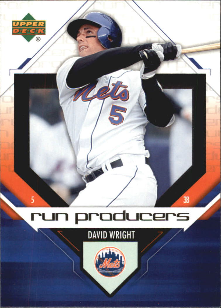 2006 Upper Deck Run Producers #RP15 David Wright