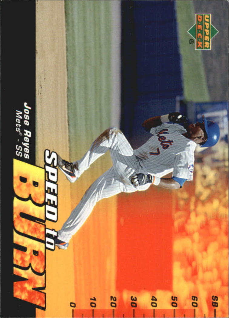 2006 Upper Deck Speed To Burn #SB7 Jose Reyes