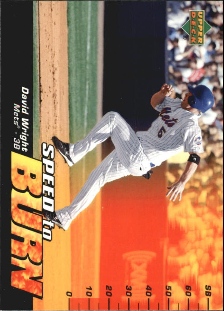 2006 Upper Deck Speed To Burn #SB12 David Wright