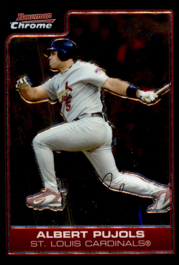 2006 Bowman Chrome #25 Albert Pujols