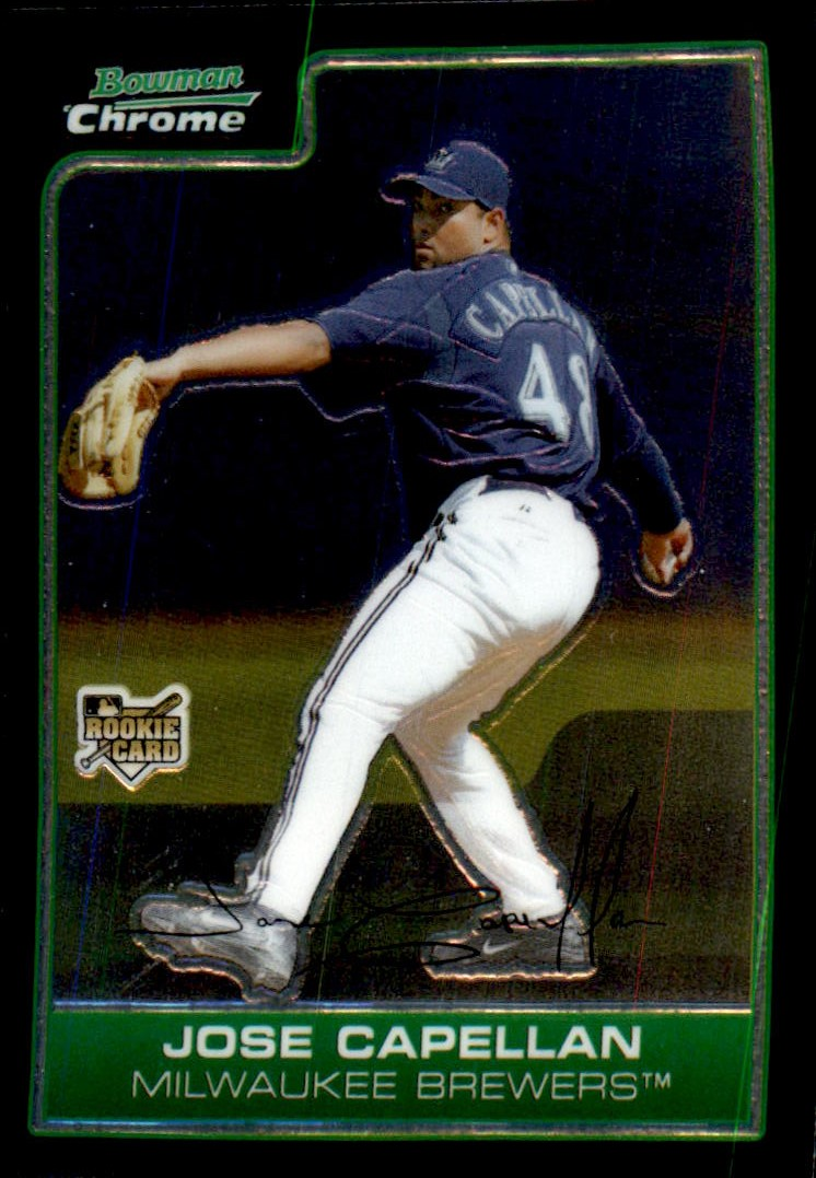 2006 Bowman Chrome #202 Jose Capellan (RC)
