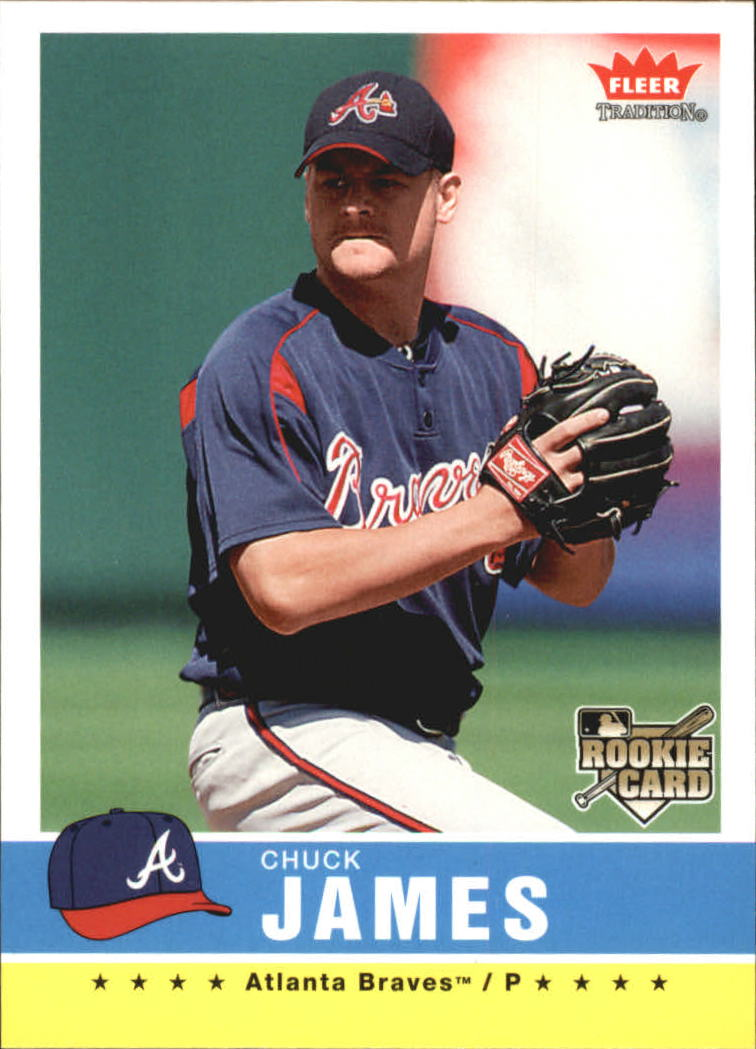 2006 Fleer Tradition #6 Chuck James (RC)
