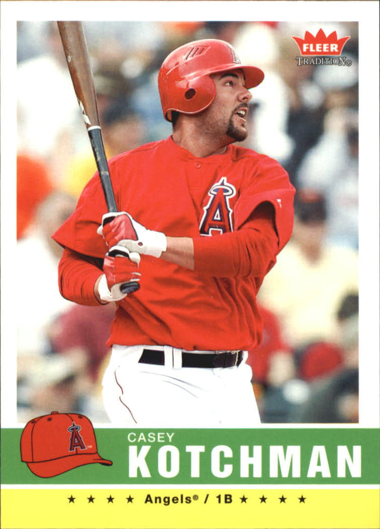 2006 Fleer Tradition #19 Casey Kotchman