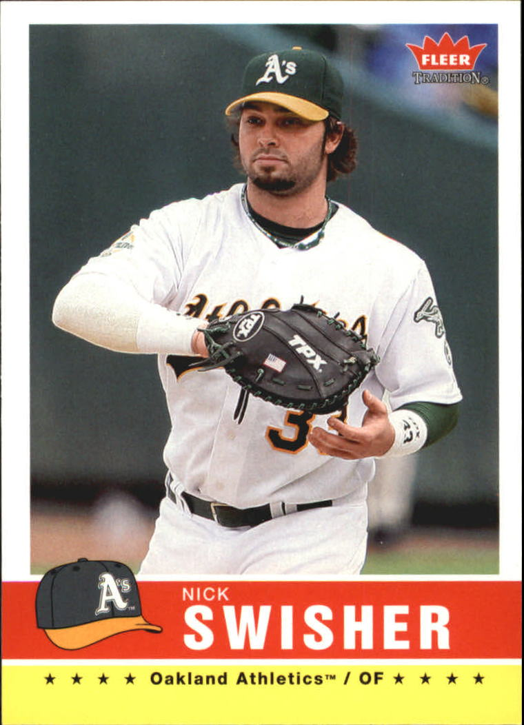2006 Fleer Tradition #32 Nick Swisher
