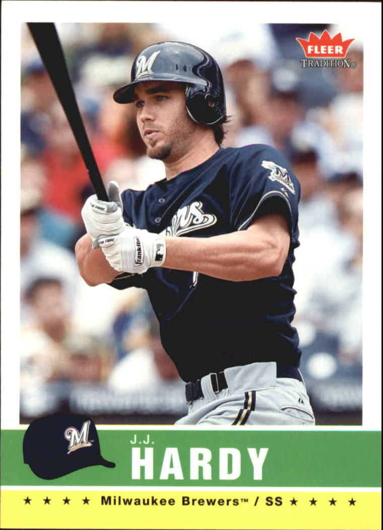 2006 Fleer Tradition #45 J.J. Hardy