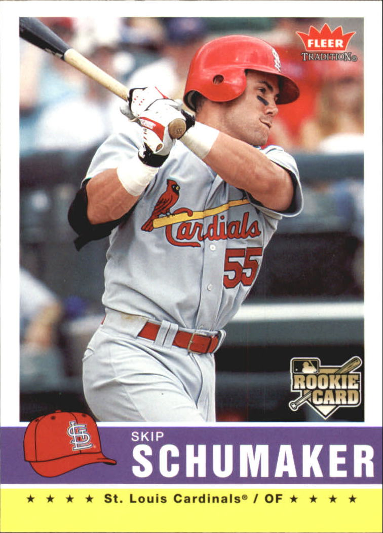 2006 Fleer Tradition #47 Skip Schumaker (RC)