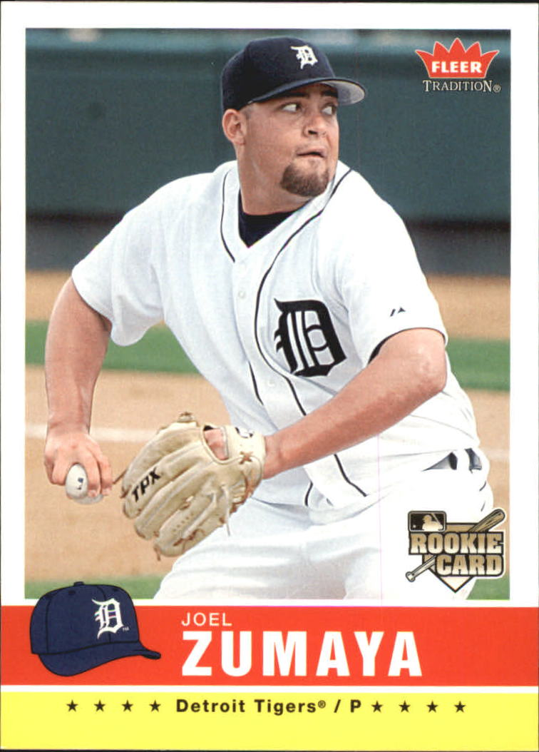 2006 Fleer Tradition #78 Joel Zumaya (RC) front image
