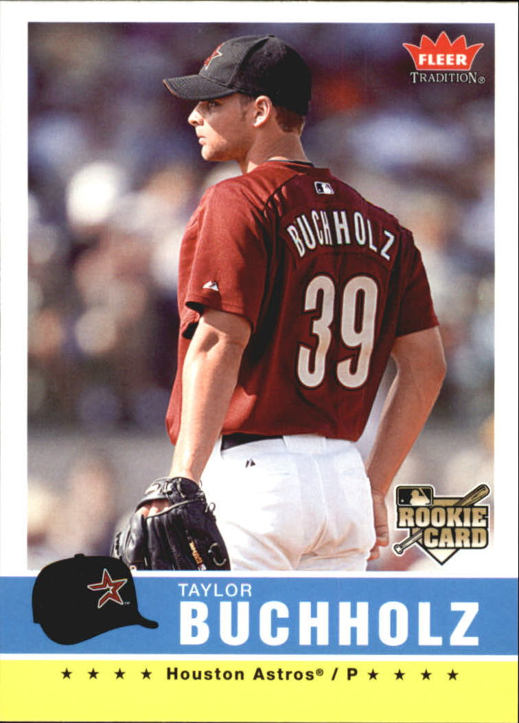 2006 Fleer Tradition #92 Taylor Buchholz (RC)