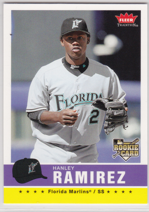 2006 Fleer Tradition #98 Hanley Ramirez (RC)