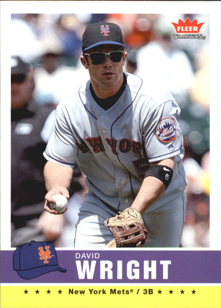 2006 Fleer Tradition #101 David Wright