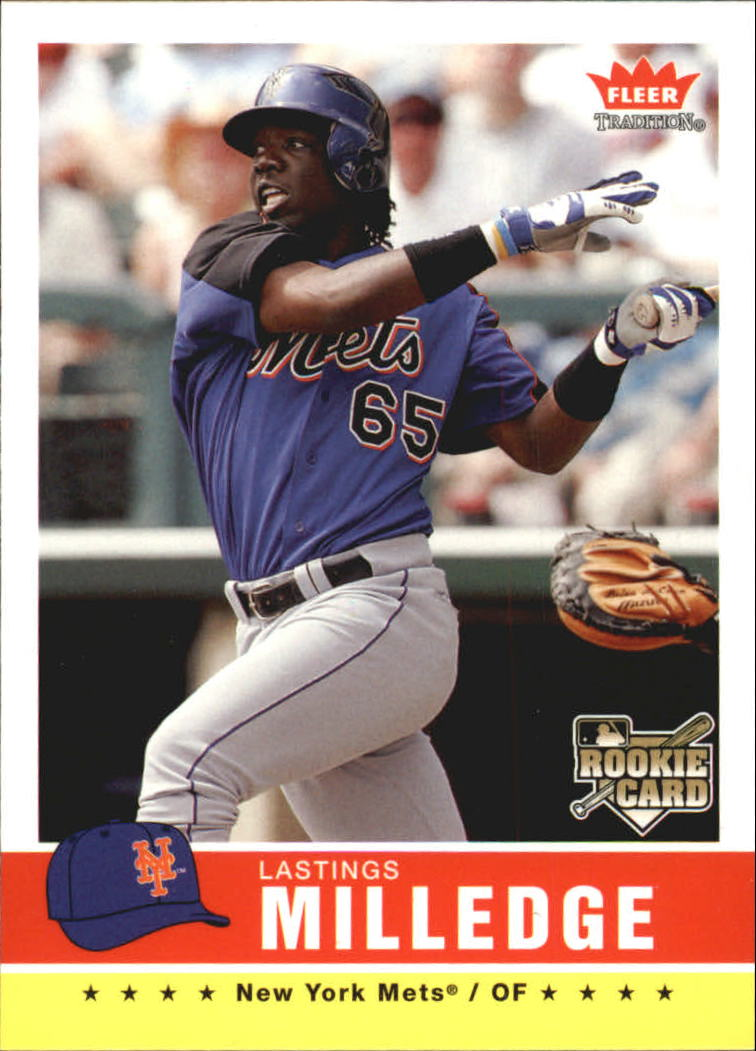 2006 Fleer Tradition #107 Lastings Milledge (RC) front image