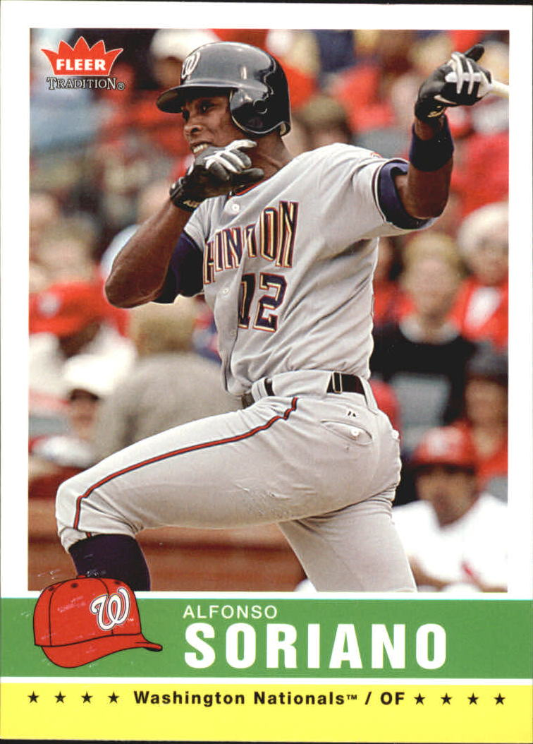 2006 Fleer Tradition #108 Alfonso Soriano