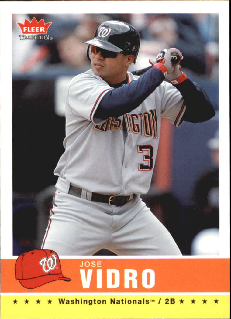 2006 Fleer Tradition #109 Jose Vidro