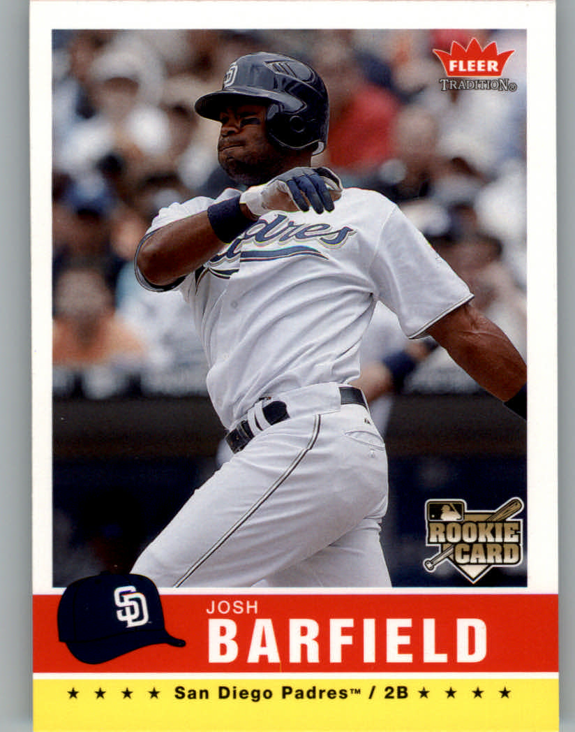 2006 Fleer Tradition #125 Josh Barfield (RC)