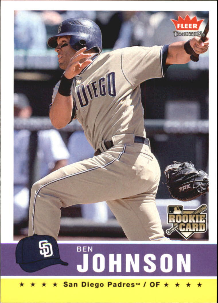2006 Fleer Tradition #126 Ben Johnson (RC)