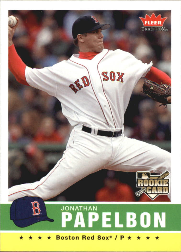 2006 Fleer Tradition #153 Jonathan Papelbon (RC)