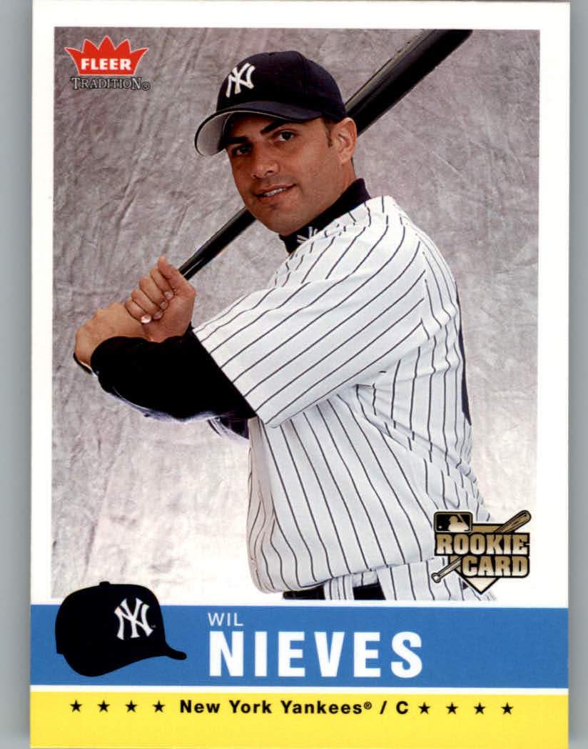 2006 Fleer Tradition #195 Wil Nieves (RC)