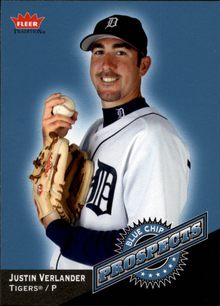 2006 Fleer Tradition Blue Chip Prospects #BC4 Justin Verlander