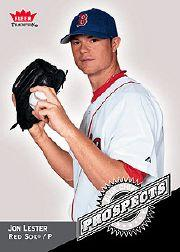 2006 Fleer Tradition Blue Chip Prospects #BC11 Jon Lester front image