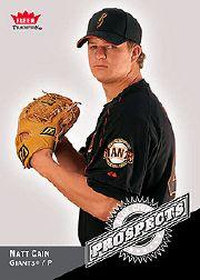 2006 Fleer Tradition Blue Chip Prospects #BC12 Matt Cain