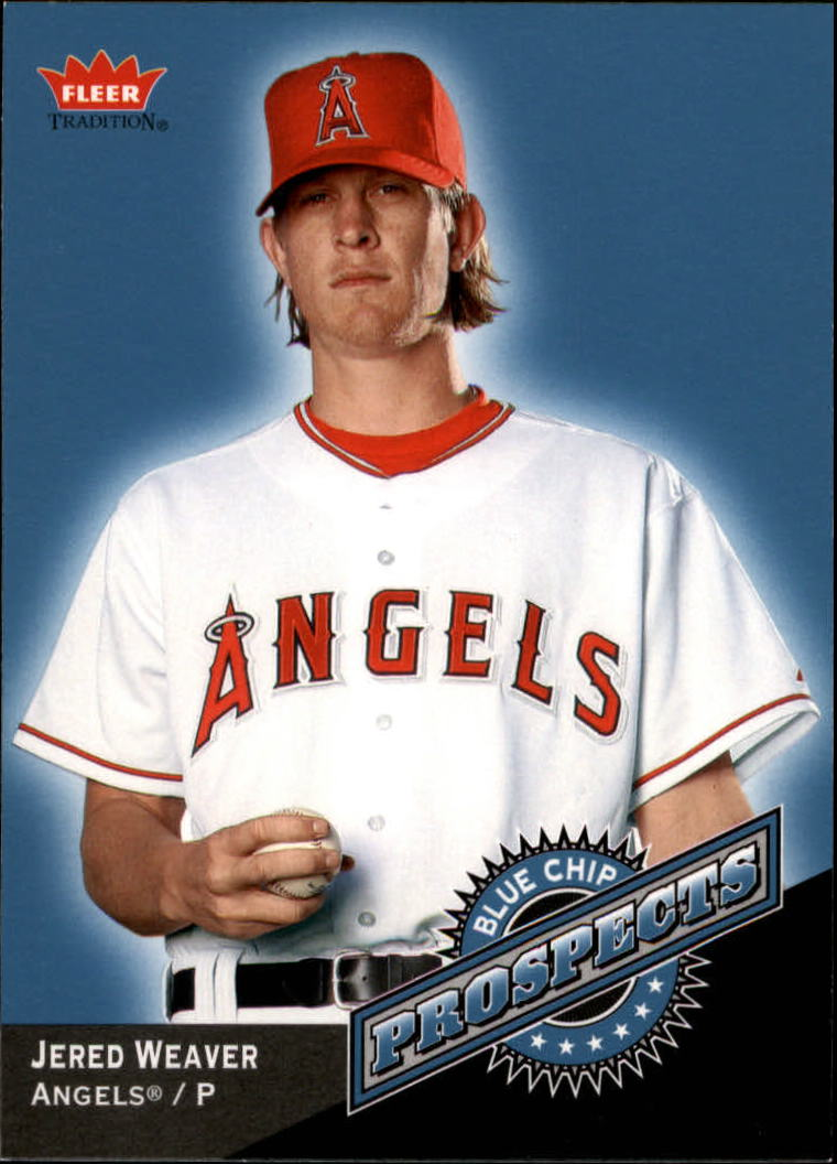 2006 Fleer Tradition Blue Chip Prospects #BC21 Jered Weaver