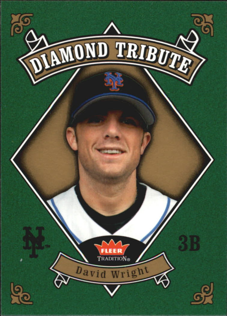 2006 Fleer Tradition Diamond Tribute #DT16 David Wright