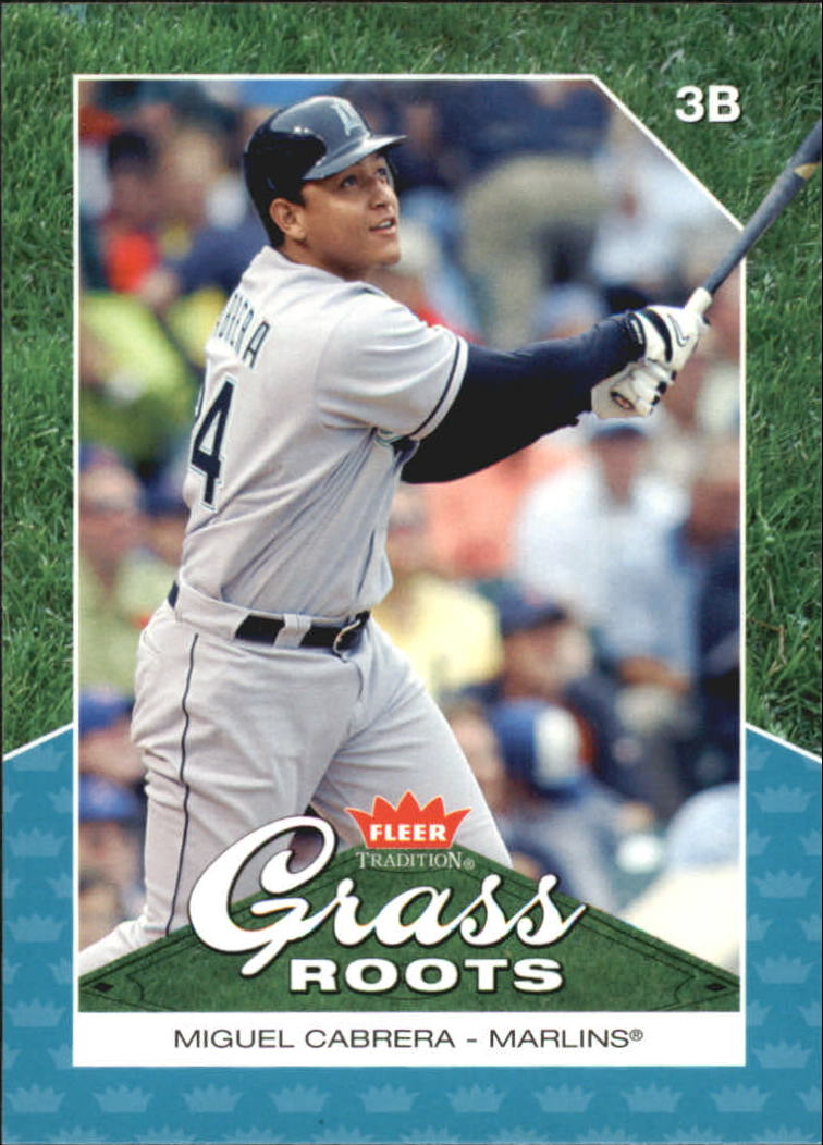 2006 Fleer Tradition Grass Roots #GR12 Miguel Cabrera
